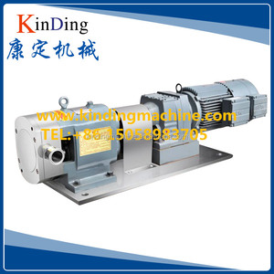 SS304/SS316L Stainless Steel Sanitary Rotary Lobe honey Pump