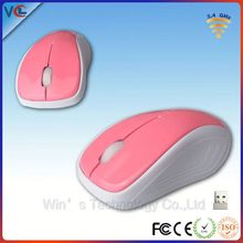 deluxe 2.4g usb wireless mouse with oem service from ISO9001 factory