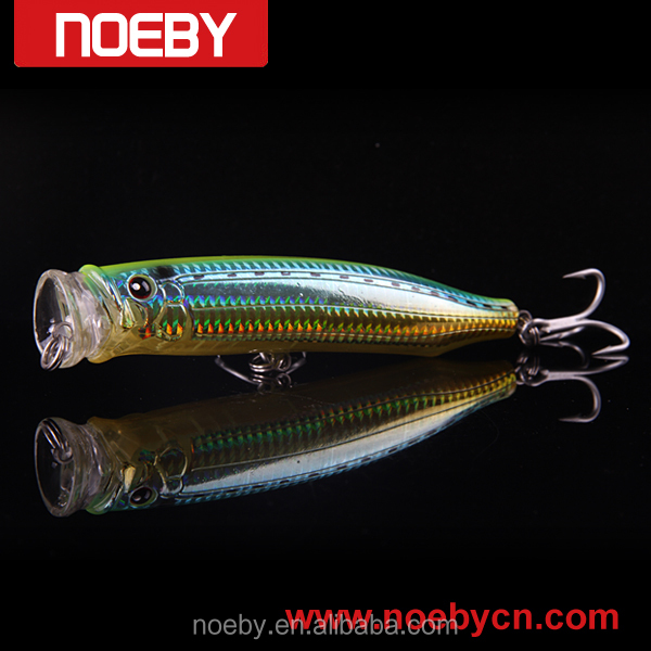 NOEBY new style hard fishing lure bubble popper GT lures