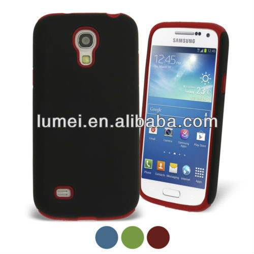 Hybrid Silicone Case for Samsung Galaxy S4 Mini I9190