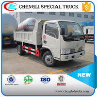 china supplier 4 ton loading 5cbm capacity 6 wheeler 4*2 type right hand drive dongfeng mini dump trucks