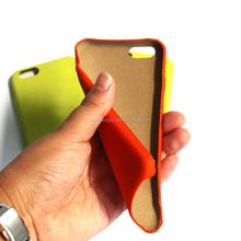 Soft Fabric Nylon Neon Color Cell Phone Covers Back Cover Mobile Phone Case For Iphone 6 Case