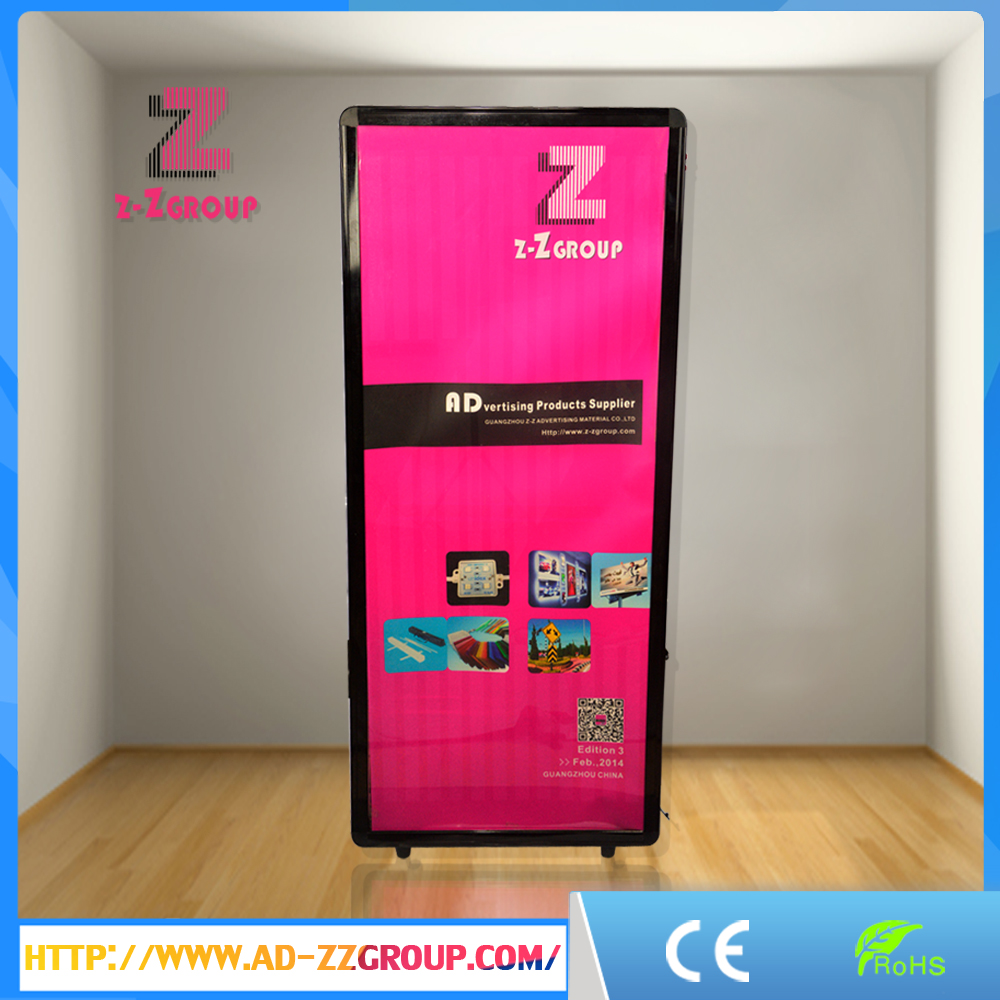 New Style Outdoor Light Box!Movable Display Backpack Billboard with LED Screen