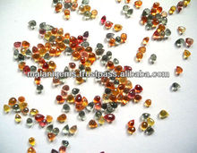 Loose Calibrated Beads Drops Facet Multi Sapphire Natural