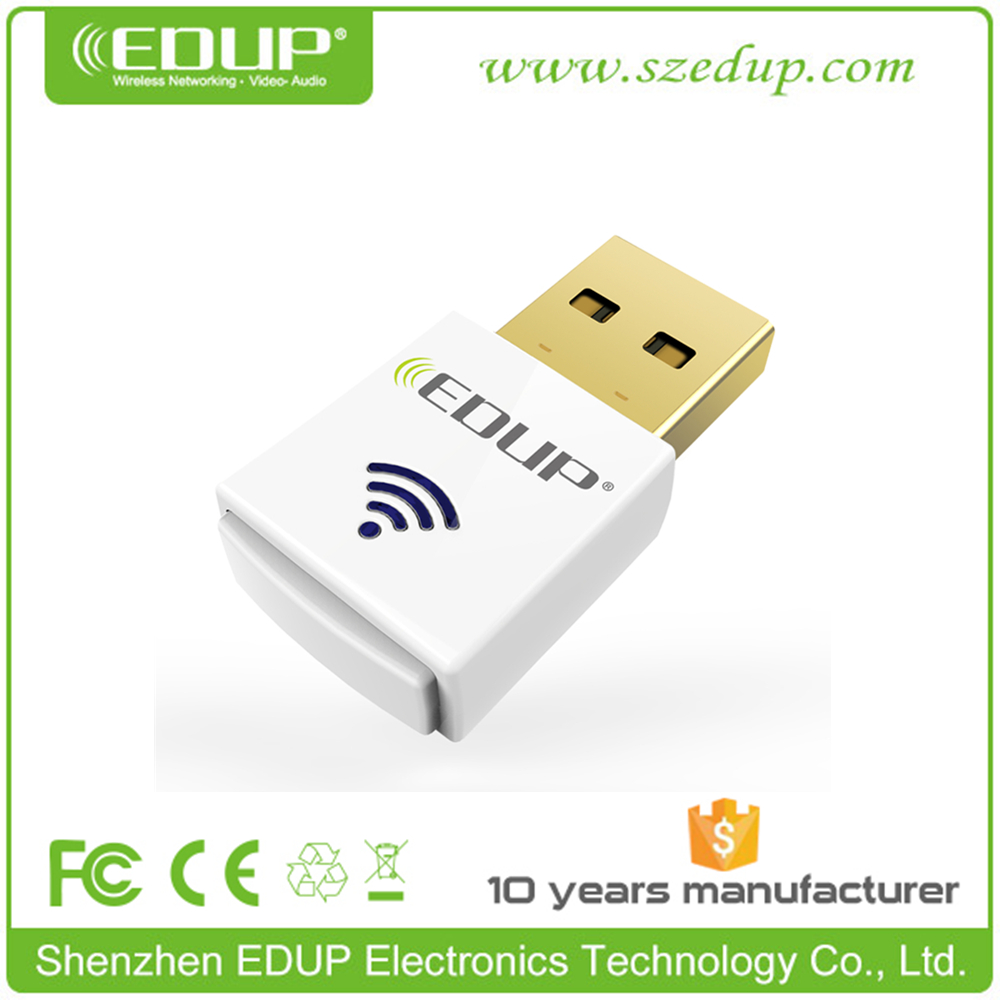 802.11AC Dual Band 2.4GHz / 5GHz USB Network Wireless WiFi Adapter