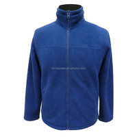 men's classical and hot sale zip-up coat in polar fleece for Autumn and Winter