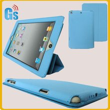 Book style stand leather for ipad mini tablet cover case