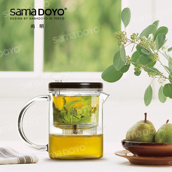 SAMADOYO Top Quality Glass Tea Pots/Teapots With Sieve In Hot Sale Factory Supplies