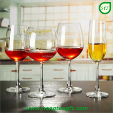 Hotel glassware/ high quality cheap stemware goblet wine glass