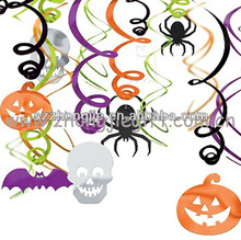 new design halloween whirls decorations
