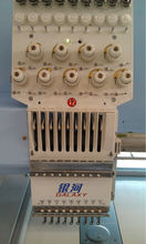 12 Head High Speed Embroidery Machine