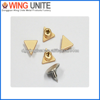 8mm Hot Selling Gold With Shinny Coating Custom Design Jean Rivet