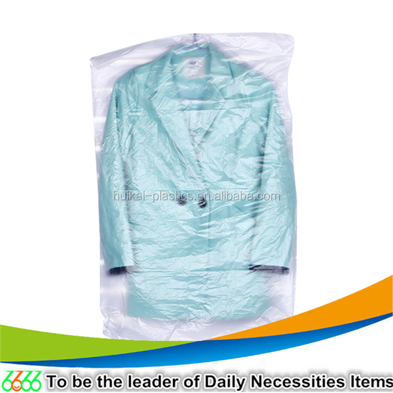 YiWu daily plastic products co., ltd custom garment packaging bag plastic hanging dress bag