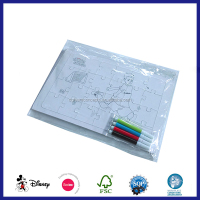 Funny DIY Blank Jigsaw Puzzle with color pen
