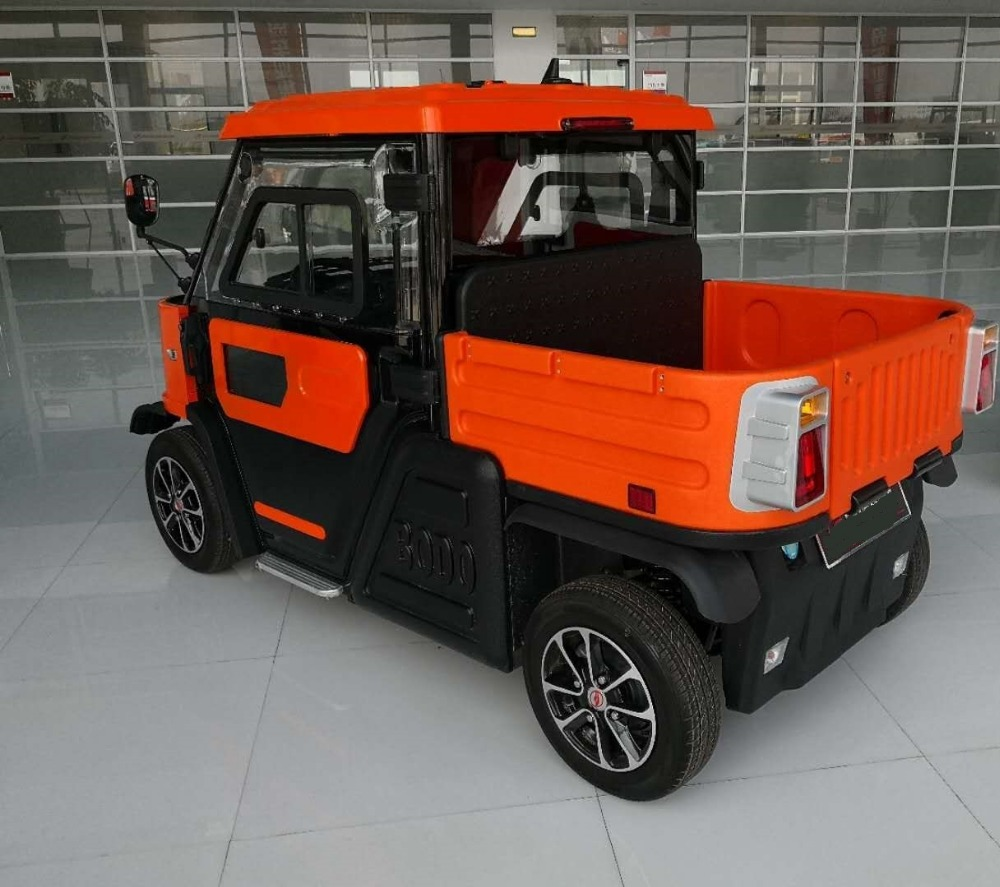 Left steering 2 seats Electric truck /electric pickup with strong body from china