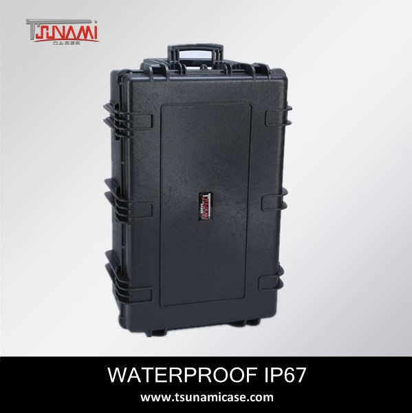 Carrying case waterproof plastic ammo reloading equipment case for outdoor equipment