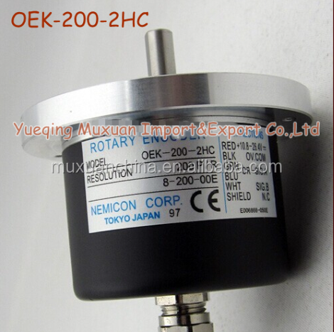 OEK-200-2HC Increment Rotary Encoder Sensor Diameter 79MM Solid Shaft Type Optional Axis Diameter 8mm