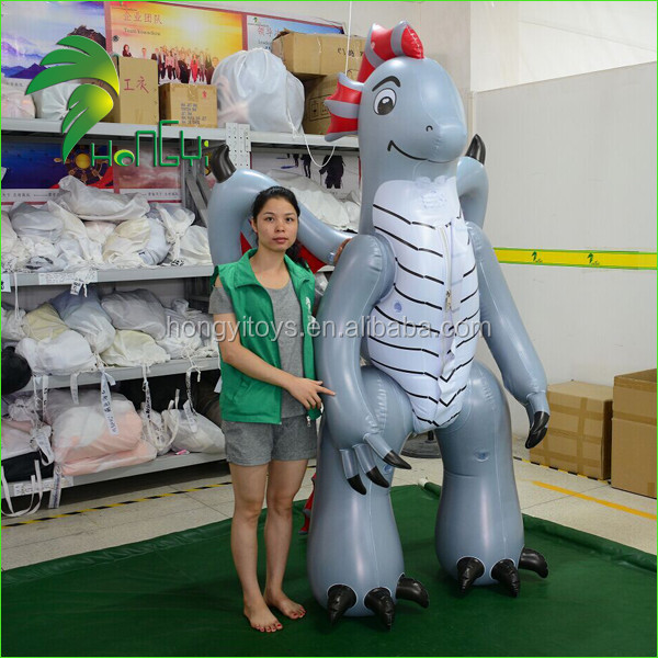 Double Layer PVC suit / Inflatable Toothless Dragon Costume / Custom Hongyi Suit