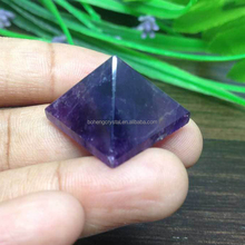 wholesale Natural Amethyst Pyramid Crystal Pyramid For fengshui home decor