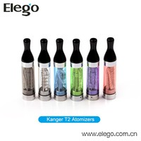 Best price for Colorful long wicks kanger t2 clearomizer wholesale