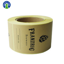 Adhesive paper stickers for container packing,wholesale shipping printed care labels