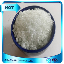 Ceramic raw material transparent ceramic frit glass