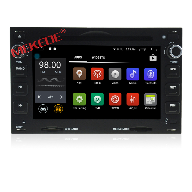 Factory price auto gps navigation special for Peugeot 307 with android 2G RAM and 16G ROM