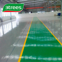 3TREES Hot Sell Epoxy Concrete Garage Floor Coating Floor paint For basement Parking lot