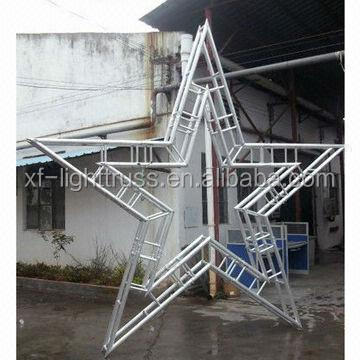 Aluminium stage truss,outdoor truss project system available in various sizes from Guangzhou