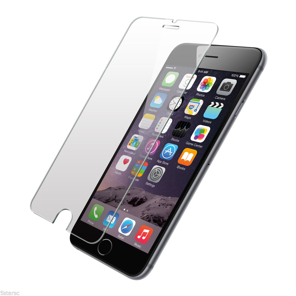 Clear Tempered Glass Screen Protector for iPhone 6, Hot Selling Screen Protector for Iphone6, Accept Paypal