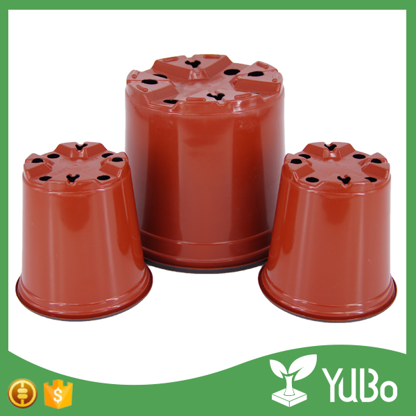 Free Sample Mini Plastic Terracotta Flower Garden Planter For Nursery