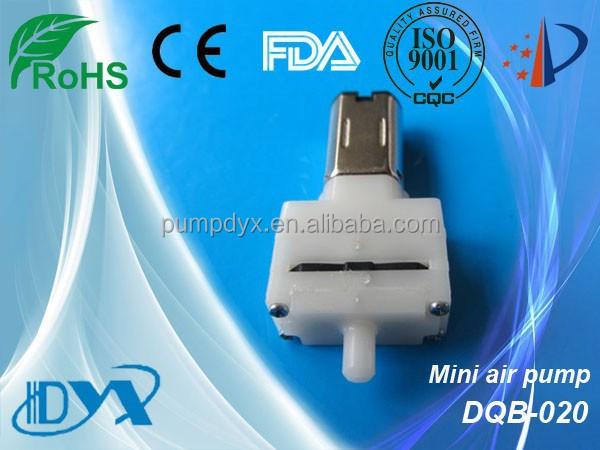 DC mini air pump for mini electric blood pressure monitor face massage machine