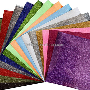 wholesale htv glitter heat transfer vinyl for sheets
