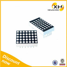 Free Sample Indoor Outdoor using High Brightness 5x7 white led dot matrix display