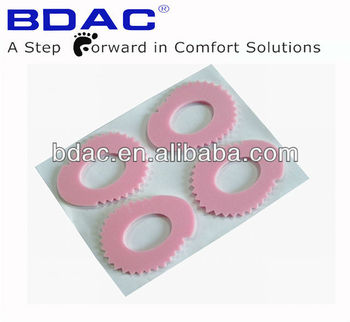 footcare foot cushion latex callous removers