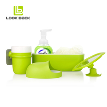 Hot Amazon Product asian plastic bathroom accessories set