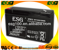 6v 12AH Rechargeable Storage SMF AGM Sealed Lead Acid Solar 6v Battery
