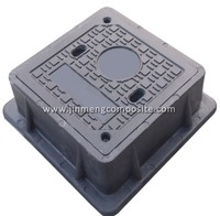 free sample en 124 manhole cover gas valve box with rubber gasket