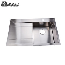 Composite handmade easy mounting vegetable washing kitchen sink