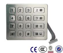 Smart Intercom System elevator Phone industry stainless keypad