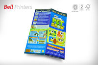 Good quality printed leaflet flyers 4 color printing from India