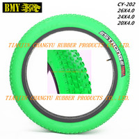 bicycle parts mountain bicycle tyre fat beach bike tire 24x4.0