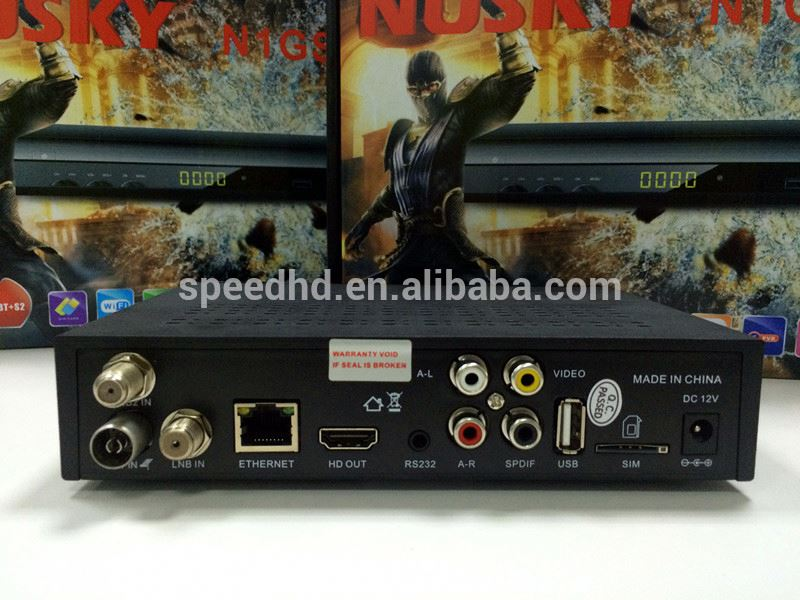 twin tuner decoder original software dvb-s2 hd Digital satellite tv receiver