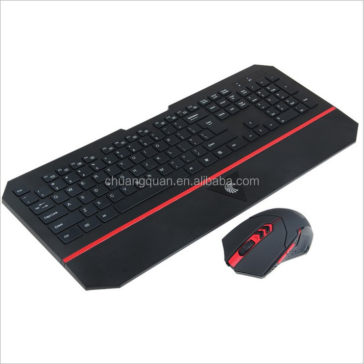 Shenzhen Multimedia Wireless Ultra-thin Backlit Keyboard Mouse Combo For Office