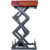 3 tons automatic aerial stationary car double scissor lift table