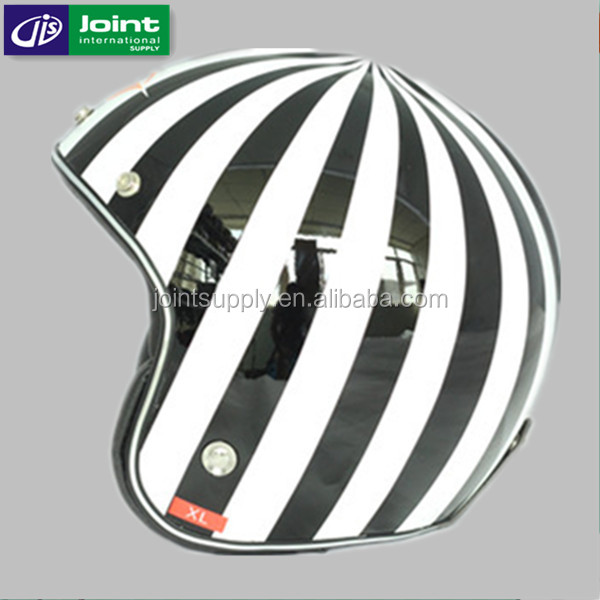 Glass Fiber Reinforced Plastic Scooter Open Face Helmet