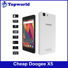 Hot Hot Hot! 4.7 inch Doogee X5 Cellphone MTK6580 Android 5.1 Dulal Sims 1+8GB Phone