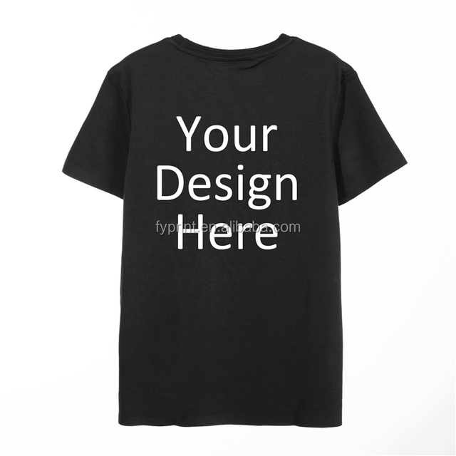 Hot wholesale t-shirts and custom your design is 100% cotton