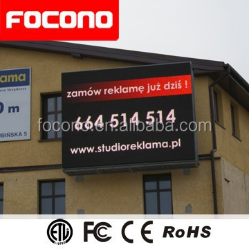 Full Color P6 P8 P10 P12 P16 Xxxxx China Video Led Dot Matrix Outdoor Display With 8 Years Warranty