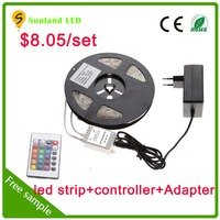 2015 new hot brighter SMD 5050 3825 waterproof led strip ws2801